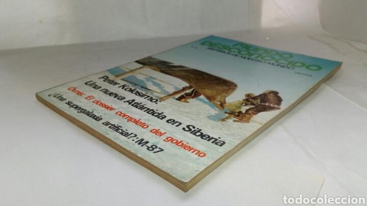Coleccionismo de Revistas y Periódicos: Revista Mundo desconocido. Número 9. - Foto 4 - 236626430