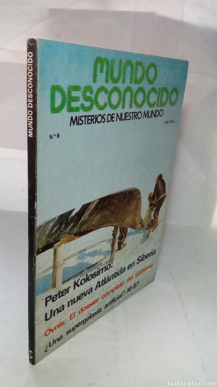 Coleccionismo de Revistas y Periódicos: Revista Mundo desconocido. Número 9. - Foto 5 - 236626430