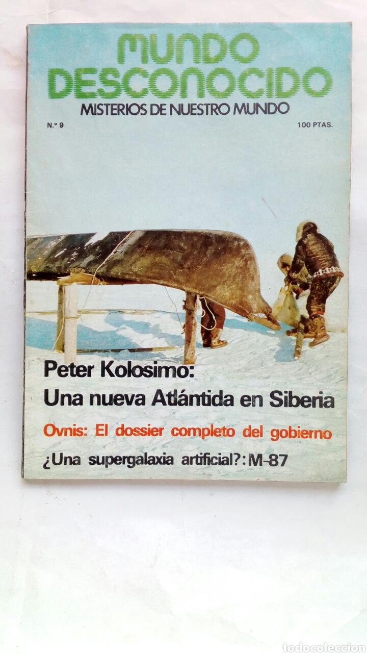REVISTA MUNDO DESCONOCIDO. NÚMERO 9. (Coleccionismo - Revistas y Periódicos Modernos (a partir de 1.940) - Otros)