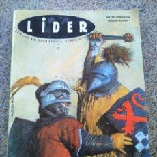 Coleccionismo de Revistas y Periódicos: REVISTA LIDER -- Nº 32 -- JUEGOS DE ESTRATEGIA, SIMULACION Y ROL --. Lote 236789700