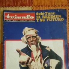 Coleccionismo de Revistas y Periódicos: REVISTA TRIUNFO. Lote 236929350