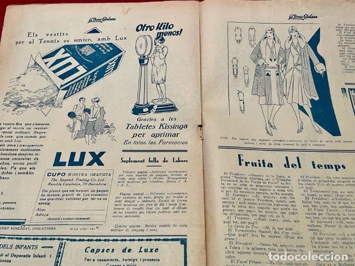 Coleccionismo de Revistas y Periódicos: REVSITA - LA DONA CATALANA ( AÑO 1930 ) - Foto 3 - 237004395