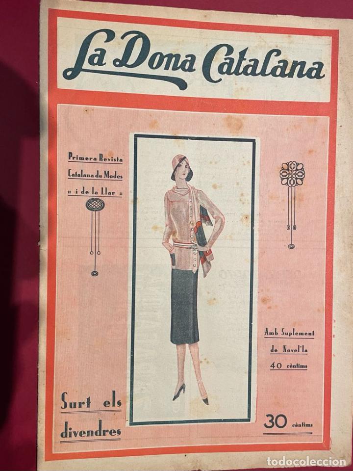 REVSITA - LA DONA CATALANA ( AÑO 1930 ) (Coleccionismo - Revistas y Periódicos Antiguos (hasta 1.939))