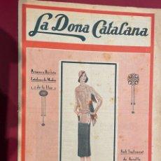 Coleccionismo de Revistas y Periódicos: REVSITA - LA DONA CATALANA ( AÑO 1930 ). Lote 237004395