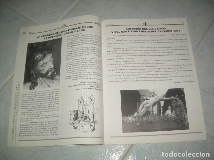 Coleccionismo de Revistas y Periódicos: REVISTA CALVARIO Nº 18, COFRADÍA ESTUDIANTES, VÍA CRUCIS CRISTO. CÁCERES 2005 - Foto 2 - 237019535