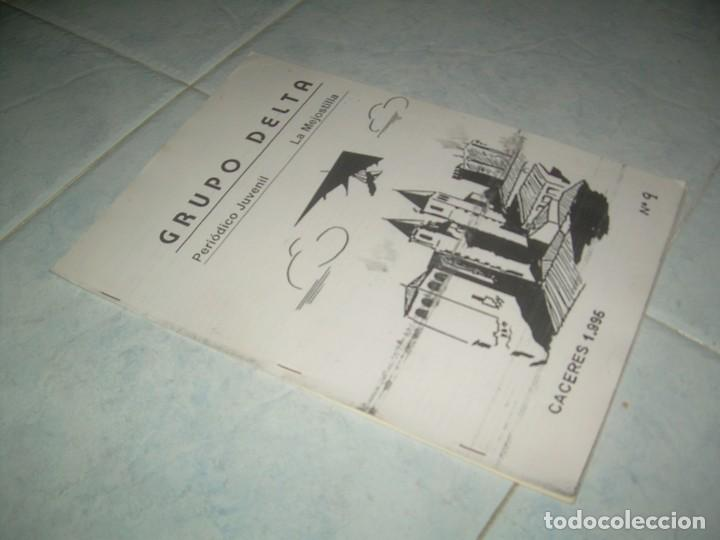 FANZINE GRUPO DELTA Nº 9, PERIÓDICO JUVENIL LA MEJOSTILLA, CÁCERES 1996 (Coleccionismo - Revistas y Periódicos Modernos (a partir de 1.940) - Otros)