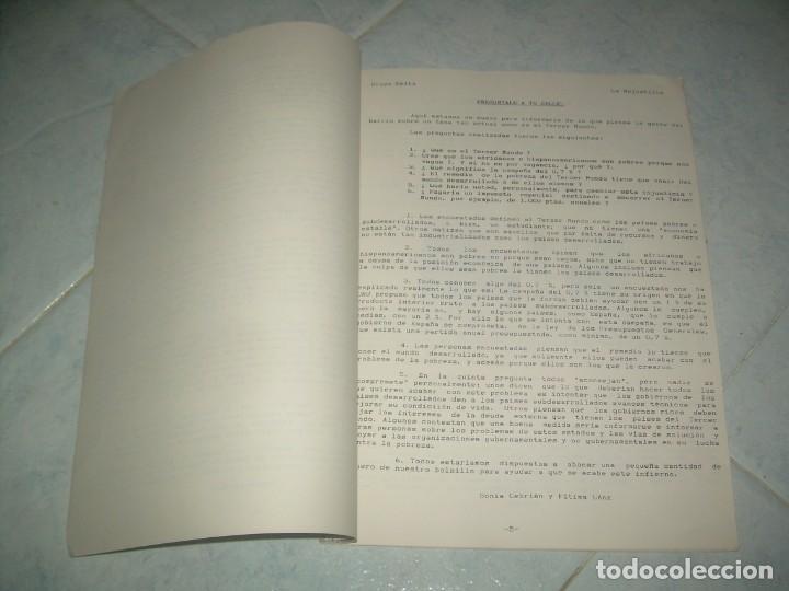 Coleccionismo de Revistas y Periódicos: FANZINE GRUPO DELTA Nº 9, PERIÓDICO JUVENIL LA MEJOSTILLA, CÁCERES 1996 - Foto 2 - 237020400
