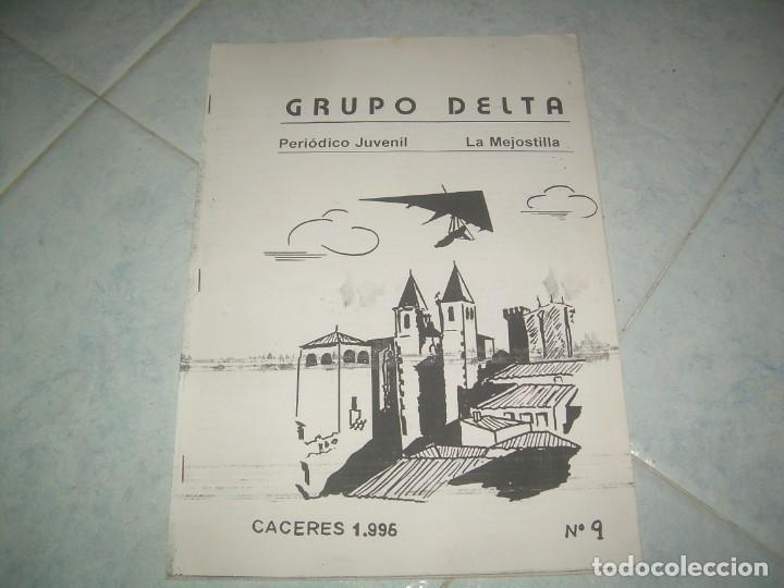 Coleccionismo de Revistas y Periódicos: FANZINE GRUPO DELTA Nº 9, PERIÓDICO JUVENIL LA MEJOSTILLA, CÁCERES 1996 - Foto 4 - 237020400