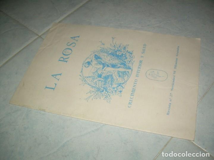 FANZINE REVISTA LA ROSA Nº 27, CRECIMIENTO INTERIOR Y SALUD, CÁCERES 1994 (Coleccionismo - Revistas y Periódicos Modernos (a partir de 1.940) - Otros)