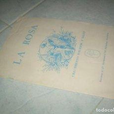 Coleccionismo de Revistas y Periódicos: FANZINE REVISTA LA ROSA Nº 27, CRECIMIENTO INTERIOR Y SALUD, CÁCERES 1994. Lote 237020675