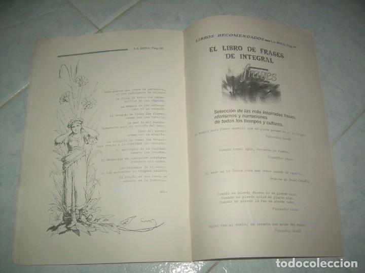 Coleccionismo de Revistas y Periódicos: FANZINE REVISTA LA ROSA Nº 27, CRECIMIENTO INTERIOR Y SALUD, CÁCERES 1994 - Foto 3 - 237020675