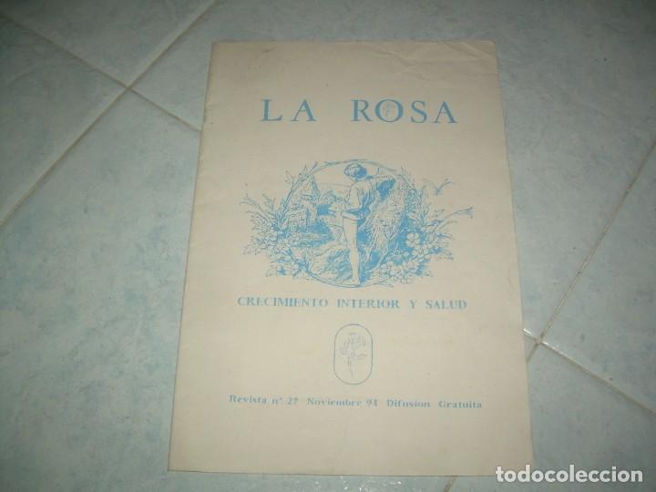 Coleccionismo de Revistas y Periódicos: FANZINE REVISTA LA ROSA Nº 27, CRECIMIENTO INTERIOR Y SALUD, CÁCERES 1994 - Foto 4 - 237020675