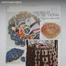 Coleccionismo de Revistas y Periódicos: REVISTA LA AGUJA Y EL DEDAL - GUIA PRACTICA DE LABORES DEL HOGAR Nº 10. TDKC102. Lote 237201920