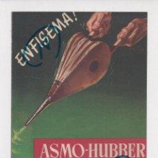 Coleccionismo de Revistas y Periódicos: PUBLICIDAD 1960. ANUNCIO MEDICAMENTOS ASMO-HUBBER GRAGEAS + SULMETIN-PAPAVERINA. GALUP (REVERSO). Lote 237203225