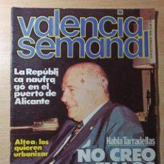 Coleccionismo de Revistas y Periódicos: REVISTA POLÍTICA HUMOR VALENCIA SEMANAL NÚMERO 36. SEPTIEMBRE 1978. Lote 237203935