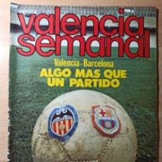 Coleccionismo de Revistas y Periódicos: REVISTA POLÍTICA HUMOR VALENCIA SEMANAL NÚMERO 38. SEPTIEMBRE 1978. Lote 237204170
