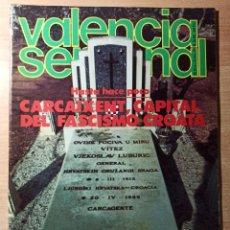 Coleccionismo de Revistas y Periódicos: REVISTA POLÍTICA HUMOR VALENCIA SEMANAL NÚMERO 48. NOVIEMBRE - DICIEMBRE 1978. Lote 237204485