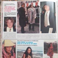 Coleccionismo de Revistas y Periódicos: TEDDY KENNEDY LAURA GEMSER. Lote 237204525