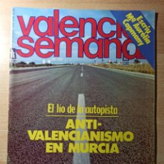 Coleccionismo de Revistas y Periódicos: REVISTA POLÍTICA HUMOR VALENCIA SEMANAL NÚMERO 50. DICIEMBRE 1978. MURCIA. Lote 237204625