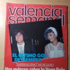 Coleccionismo de Revistas y Periódicos: REVISTA POLÍTICA HUMOR VALENCIA SEMANAL NÚMERO 53. ENERO 1979. KEMPES. MURCIA. Lote 237205210