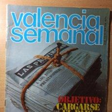 Coleccionismo de Revistas y Periódicos: REVISTA POLÍTICA HUMOR VALENCIA SEMANAL NÚMERO 56. ENERO 1979. RENAU.. Lote 237205320