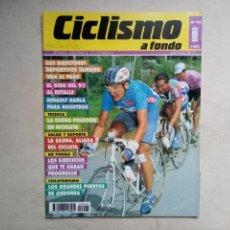 Coleccionismo de Revistas y Periódicos: CICLISMO A FONDO 95 ENERO 1993 CLAUDIO CHIAPPUCCI. Lote 237264835
