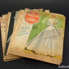 Coleccionismo de Revistas y Periódicos: REVISTA MENSUAL EL HOGAR Y LA MODA - AÑO 1954 COMPLETO - 12 NÚMEROS - VER FOTOS.. Lote 237303840