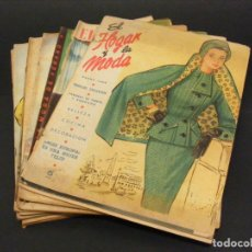 Coleccionismo de Revistas y Periódicos: REVISTA MENSUAL EL HOGAR Y LA MODA - AÑO 1955 COMPLETO - 12 NÚMEROS - VER FOTOS.. Lote 237318600
