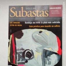 Coleccionismo de Revistas y Periódicos: REVISTA SUBASTAS SIGLO XXI. Nº 88. AÑO 8. NOVIEMBRE 2007. BANDEJAS DEL XVIII. TDKC103. Lote 237588040