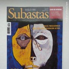Coleccionismo de Revistas y Periódicos: REVISTA SUBASTAS SIGLO XXI. Nº 94. AÑO 9. MAYO 2008. CRUCES PROCESIONALES. TDKC103. Lote 237588535