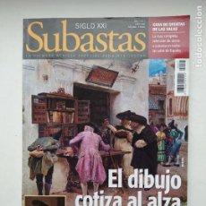 Coleccionismo de Revistas y Periódicos: REVISTA SUBASTAS SIGLO XXI. Nº 7. AÑO 1. JUNIO 2000. DIBUJO COTIZA ALTA. TDKC103. Lote 237588745