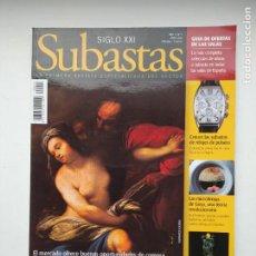 Coleccionismo de Revistas y Periódicos: REVISTA SUBASTAS SIGLO XXI. Nº 5. AÑO 1. ABRIL 2000. ESCULTURA. TDKC103. Lote 237589020
