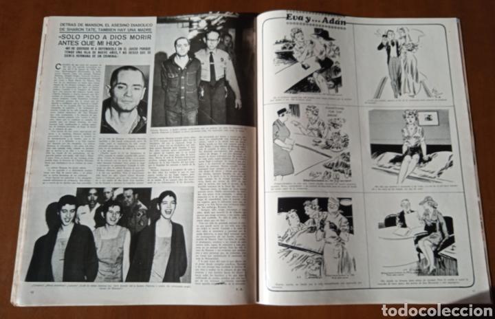 Coleccionismo de Revistas y Periódicos: Revista Semana 1971. N° 1625. Eurovisión KARINA. Capitulo LIX La emperatriz Eugenia. - Foto 4 - 237645340