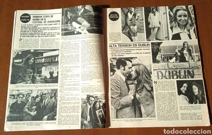 Coleccionismo de Revistas y Periódicos: Revista Semana 1971. N° 1625. Eurovisión KARINA. Capitulo LIX La emperatriz Eugenia. - Foto 5 - 237645340