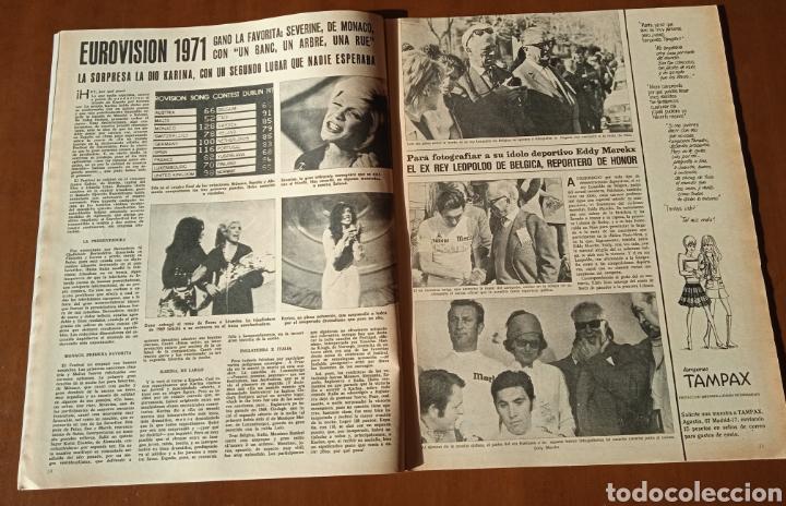 Coleccionismo de Revistas y Periódicos: Revista Semana 1971. N° 1625. Eurovisión KARINA. Capitulo LIX La emperatriz Eugenia. - Foto 6 - 237645340