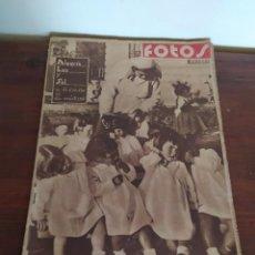 Coleccionismo de Revistas y Periódicos: REVISTA FOTOS SEMINARIOS 5 REVISTAS. Lote 237696540