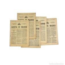 Coleccionismo de Revistas y Periódicos: 5 EJEMPLARES DE LA GACETA DE MADRID 1931 GOBIERNO II REPÚBLICA. Lote 189831792