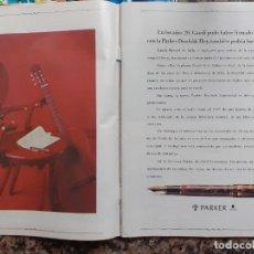 Coleccionismo de Revistas y Periódicos: ANUNCIO ESTILOGRAFICAS PARKER. Lote 237814445