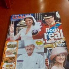 Coleccionismo de Revistas y Periódicos: REVISTA SEMANA DE ABRIL DE 2011, BODA DE GUILLERMO Y KATE. Lote 237928295