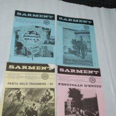 Coleccionismo de Revistas y Periódicos: SARMENT BALSARENY 1981. Lote 238115515