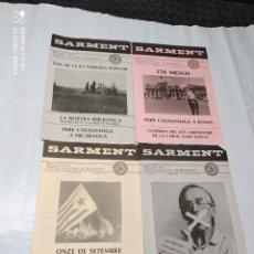 Coleccionismo de Revistas y Periódicos: SARMENT BALSARENY 1988. Lote 238117190