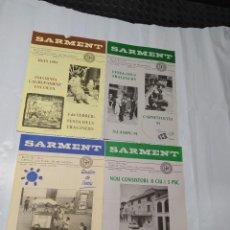 Coleccionismo de Revistas y Periódicos: SARMENT BALSARENY 1991. Lote 238117710
