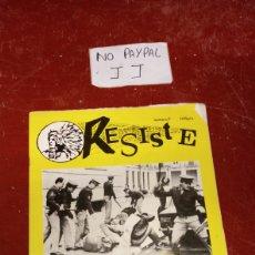 Coleccionismo de Revistas y Periódicos: REVISTA FANCINE EUTSI RESISTE PRISIONES VASCAS PRESOS VASCOS IZQUIERDA ABERTZALE NÚMERO 7 EUSKERA. Lote 238524465