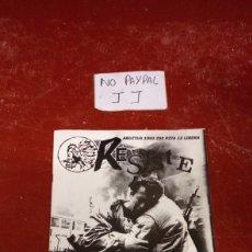 Coleccionismo de Revistas y Periódicos: REVISTA FANCINE EUTSI RESISTE PRISIONES VASCAS PRESOS VASCOS IZQUIERDA ABERTZALE 1993 AGOST INSUMISO. Lote 238525005