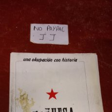 Coleccionismo de Revistas y Periódicos: REVISTA FANCINE UNA OKUPACION CON HISTORIA MINUESA MADRID VER FOTOS ESTADO MANCHA EN PORTADA 1991. Lote 238526215