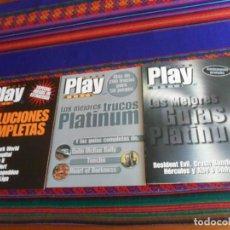 Collezionismo di Riviste e Giornali: PLAY MANIA PLAYMANIA LAS MEJORES GUÍAS PLATINUM, LOS MEJORES TRUCOS PLATINUM, SOLUCIONES COMPLETAS.. Lote 238552680