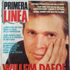 Coleccionismo de Revistas y Periódicos: REVISTA PRIMERA LÍNEA 42 WILLEN DAFOE MECANO THE SUGARCUBES BJORK ANA CURRA RUN DMC MARTIN SCORSESE. Lote 239801425