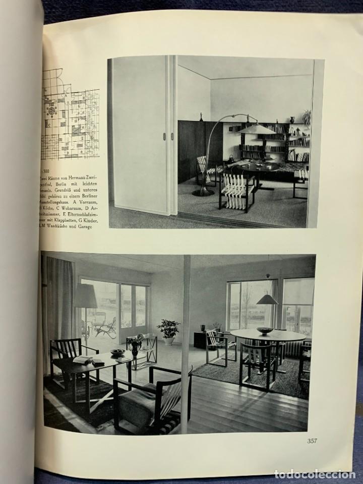 Coleccionismo de Revistas y Periódicos: MODERNE BAUFORMEN ARTE ESPACIAL ARQUITECTURA REVISTA AÑO XXXIII NUMERO 7 1934 JULIUS HOFFMANN 30X24C - Foto 3 - 239822545