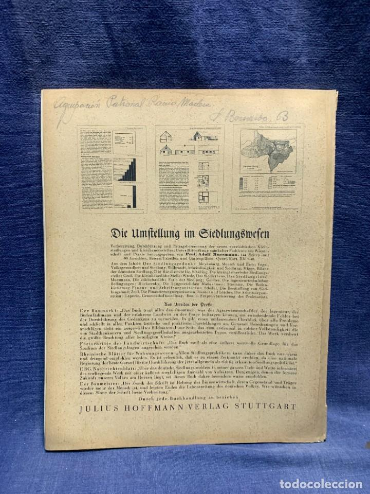 Coleccionismo de Revistas y Periódicos: MODERNE BAUFORMEN ARTE ESPACIAL ARQUITECTURA REVISTA AÑO XXXIII NUMERO 11 1934 JULIUS HOFFMANN 30X24 - Foto 4 - 239822970