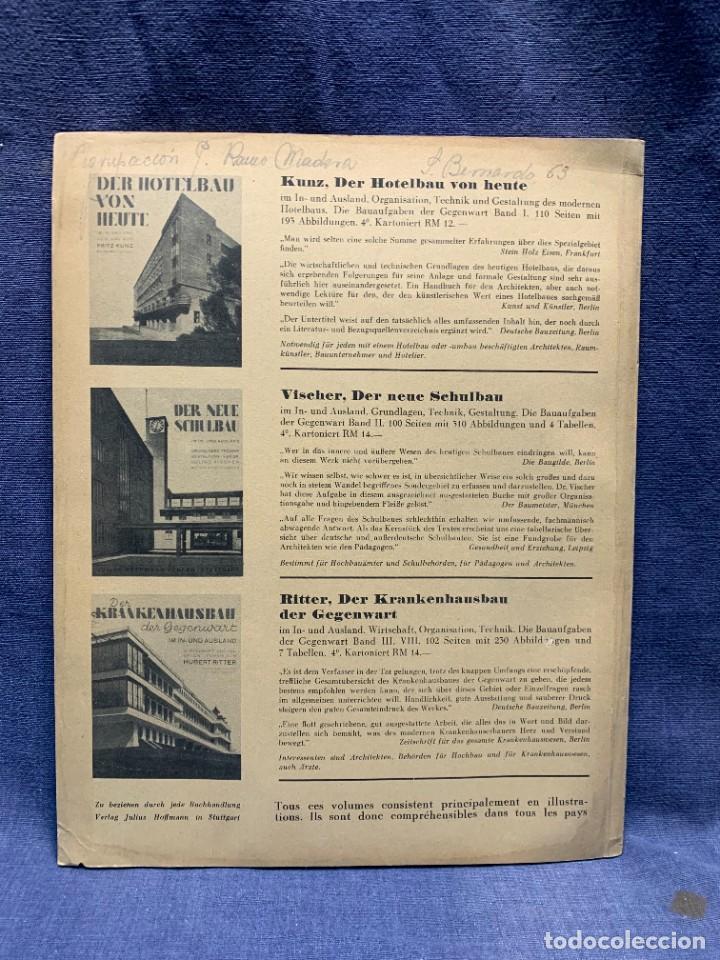 Coleccionismo de Revistas y Periódicos: MODERNE BAUFORMEN ARTE ESPACIAL ARQUITECTURA REVISTA AÑO XXXIII NUMERO 5 1935 JULIUS HOFFMANN 30X24C - Foto 5 - 239823230